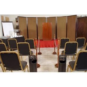 Biombo alfombrado