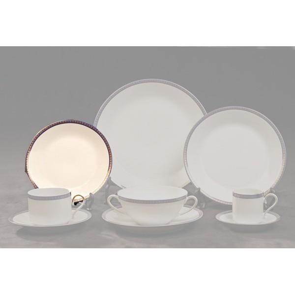 Astesiano alquiler de vajilla platos verbano azul for Vajilla de platos