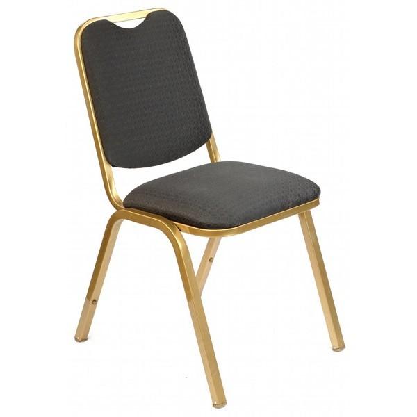 Astesiano alquiler de sillas silla tapizado negro for Sillas para rentar