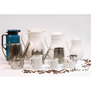 Jarras comunes, jarras térmicas y accesorios de cafetería